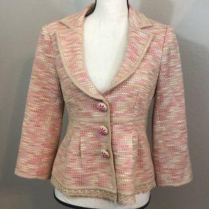 Nanette lepore size 8 blazer feminine and flirty